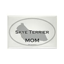 Skye Terrier MOM Rectangle Magnet