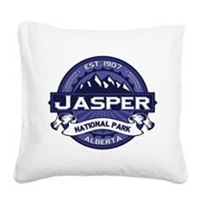 Jasper Midnight Square Canvas Pillow