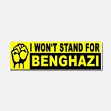 STAND BUMPERS BENGHAZI_001 Car Magnet 10 x 3