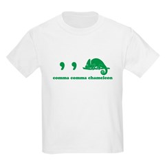 Comma Chameleon Kids T-Shirt