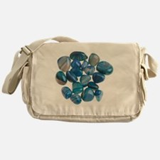 Assortment of Gemstones - Messenger Bag