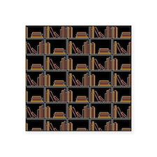 Books on Bookshelf. Sticker