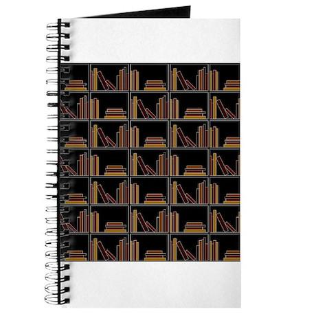 Books on Bookshelf. Journal