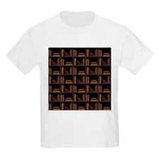 Books on Bookshelf. T-Shirt