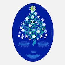 Delvian Oval Ornament