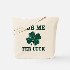 Rub Me Samrock Tote Bag