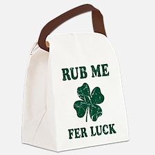 Rub Me Samrock Canvas Lunch Bag