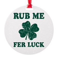 Rub Me Samrock Ornament