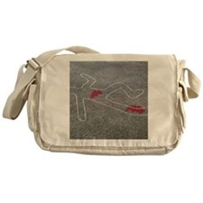 Body oultine - Messenger Bag