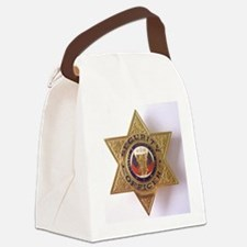 Security7StarBadge.jpg Canvas Lunch Bag
