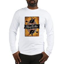 Men's Long Sleeve T-Shirt (gray/white)
