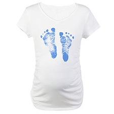 Baby Boy Footprints Shirt