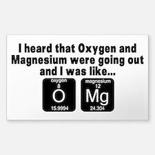 OMG1 Bumper Stickers