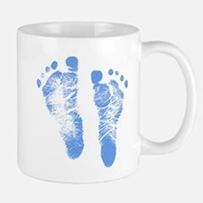 Baby Boy Footprints Mug