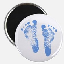 Baby Boy Footprints Magnet