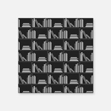 Books on Bookshelf, Gray. Sticker