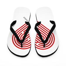 I Love Janelle Flip Flops