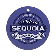 Sequoia Midnight Ornament (Round)
