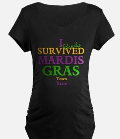 Your Mardis Gras Maternity T-Shirt
