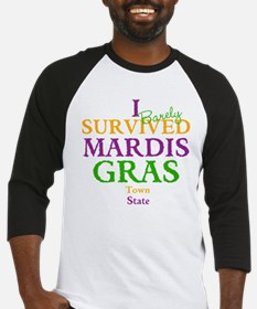 Your Mardis Gras Baseball Jersey