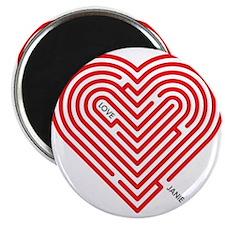 "I Love Janie 2.25"" Magnet (100 pack)"
