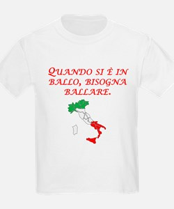 Italian Proverb Penny Pound T-Shirt