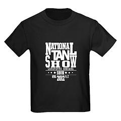 Tan-Specialty-OldSchool-(BLACK-SHIRT) T-Shirt