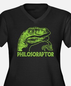 Philosoraptor Plus Size T-Shirt