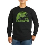 Geek Long Sleeve T-shirts (Dark)