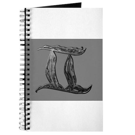 Gemini Metallic Symbol Journal