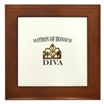Matron of Honour Framed Tile