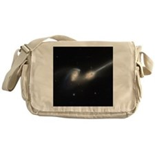 Mice colliding galaxies - Messenger Bag