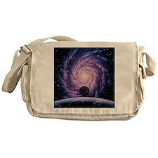 Milky Way galaxy - Messenger Bag