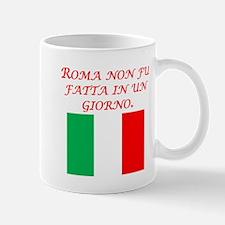 Italian Proverb Rome Mug