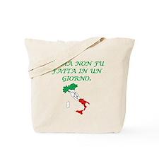 Italian Proverb Rome Tote Bag