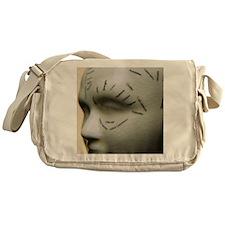 Phrenology head - Messenger Bag