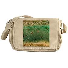 Ovarian blood vessel, SEM - Messenger Bag