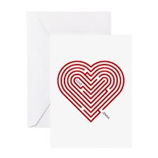 I Love Jenna Greeting Card