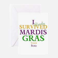 Your Mardis Gras Greeting Card