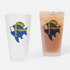 Swedish Fish Drinking Glass