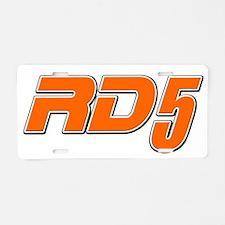 RD5 Aluminum License Plate