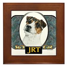 Jack Russell Terrier Designer Framed Tile