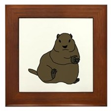 Ground Hog Framed Tile