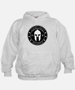 I Think Therefore I Am Armed Hoodie