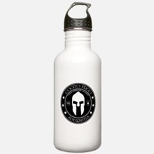 I Think Therefore I Am Armed Water Bottle