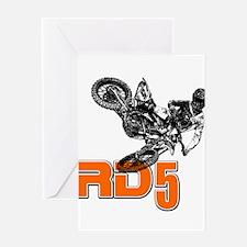 RD5bike Greeting Card