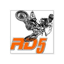 RD5bikeSlant Sticker