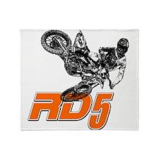 RD5bikeSlant Throw Blanket