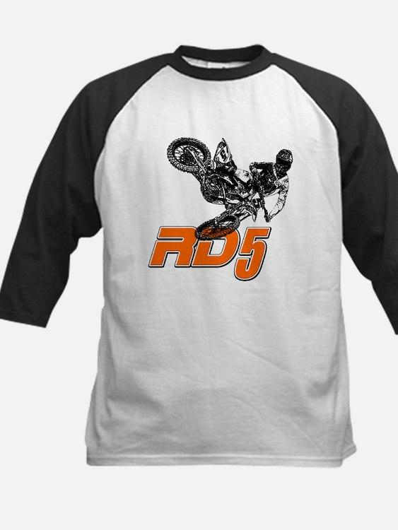 RD5bikeSlant Baseball Jersey