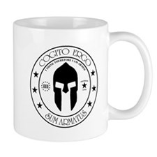 I Think Therefore I Am Armed Mug